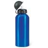 Metal drinking bottle (600 ml)  in blue