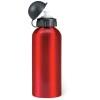 Metal drinking bottle (600 ml)  in red