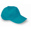 Baseball cap in turquoise