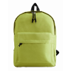 600D Polyester Backpack in lime