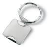 Metal key ring                  in silver