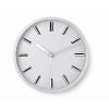 Round shape wall clock in white
