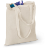 Shopping Bag With Long Handles in beige