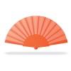 Manual hand fan                 in orange
