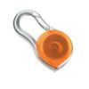 Measuring tape in transparent-orange