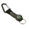 Key Ring With Carabiner in black