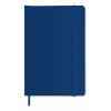 A5 notebook lined in blue