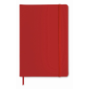 A5 notebook lined in red