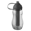 Bottle With Freezing Tube in transparent-grey