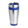 Stainless steel mug in blue
