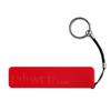 Slim Powerbank 2200Mah in red