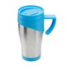 Stainless Steel Travel Mug in blue