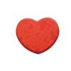 Heart shape peppermint box      in red