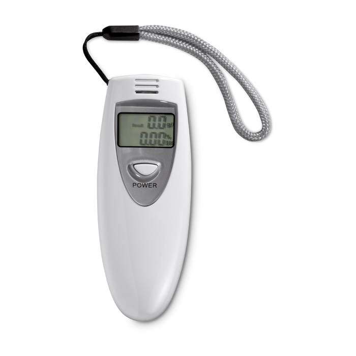 Alcohol Tester in white