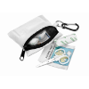 First aid kit w/ carabiner in white