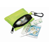 First aid kit w/ carabiner in yellow