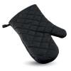 Cotton oven glove               in black