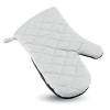 Cotton oven glove               in white
