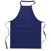 Kitchen apron in cotton         in blue