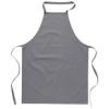 Kitchen apron in cotton         in grey