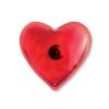 Hand warmer in heart shape      in red