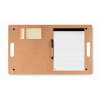 Folder in carton in beige
