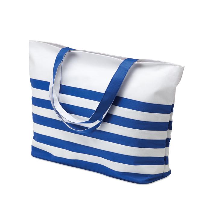 Marine Beach Bag in blue
