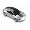 Wireless mouse in car shape in matt-silver