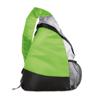 Triangular Backpack in lime