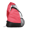 Triangular Backpack in red