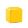 Anti-stress square in yellow