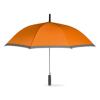 Umbrella with EVA handle in orange