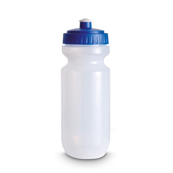 Plastic Drinking Bottle in blue