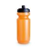 Plastic Drinking Bottle in transparent-orange