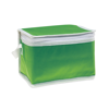 Nonwoven 6 can cooler bag       in green