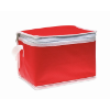Nonwoven 6 can cooler bag       in red