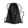 Drawstring bag in black