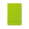 Vertical format notebook in lime