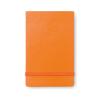 Vertical format notebook in orange
