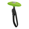 Luggage scale in lime