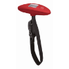 Luggage scale in red