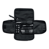 Tool Set In Pu Pouch in black