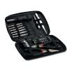 26 pcs tool in aluminium case in black