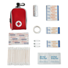 First Aid Kit in red