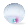 Inflatable Beachball W Light in transparent