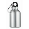 300ml aluminium bottle          in matt-silver
