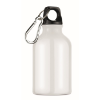 300ml aluminium bottle          in white