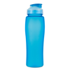 750Ml Bottle With Pop Up Straw in blue