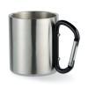 Metal mug & carabiner handle in black