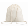 Cotton 100 Gsm Drawstring Bag in beige